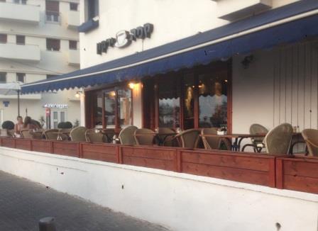 אדניות עץ לבתי קפה ומסעדות